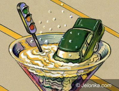 Kowary: Pijak bił skradzionym autem rekordy szybkości