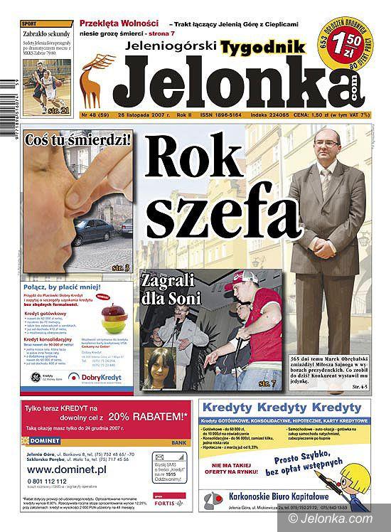 Region Jeleniogórski: Tygodnik Jelonka od poniedziałku w kioskach