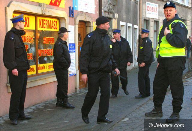 JELENIA GÓRA: Czeka nas czwartek bez policjantów?