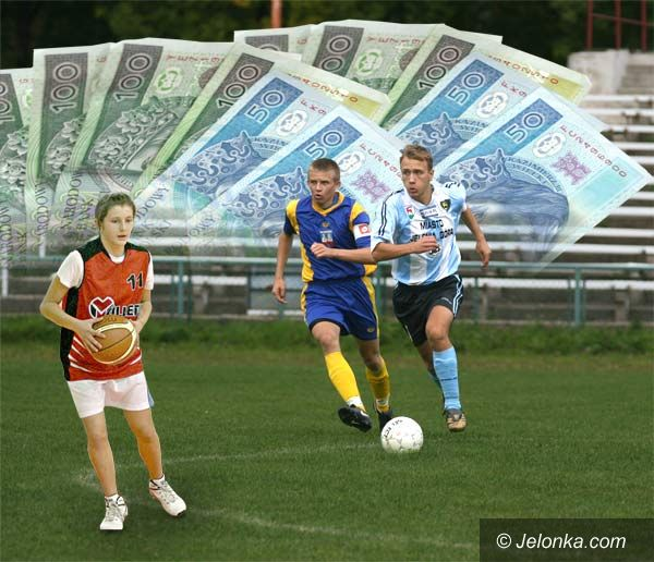 JELENIA GÓRA: Kłopoty z podziałem pieniędzy na sport