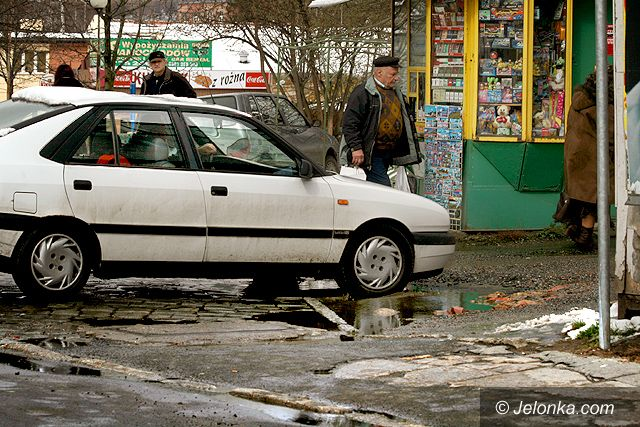 JELENIA GÓRA: Parkingowa pułapka na ul. Jasnej