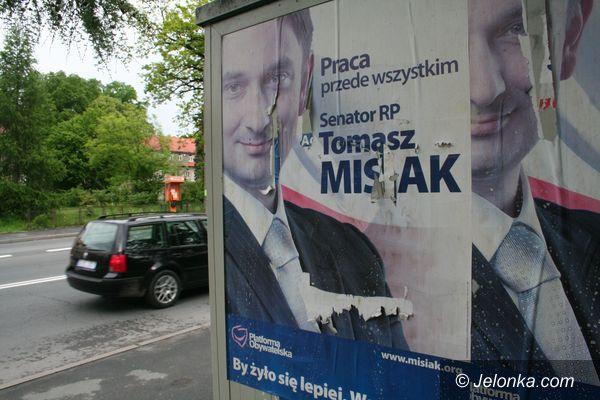 JELENIA GÓRA: Senator Misiak wciąż w kampanii