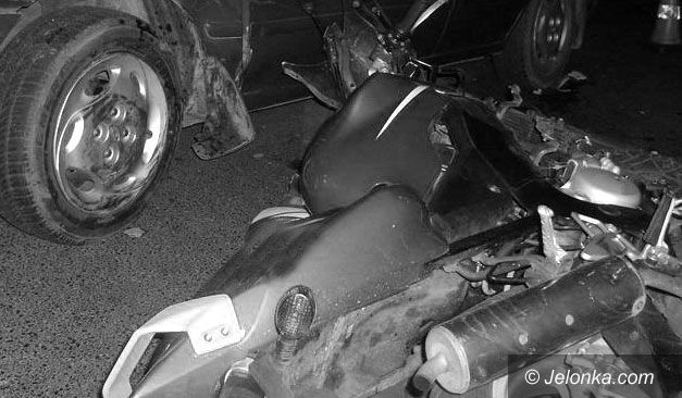 Region Jeleniogórski: Nietrzeźwy motocyklista zabił pasażera