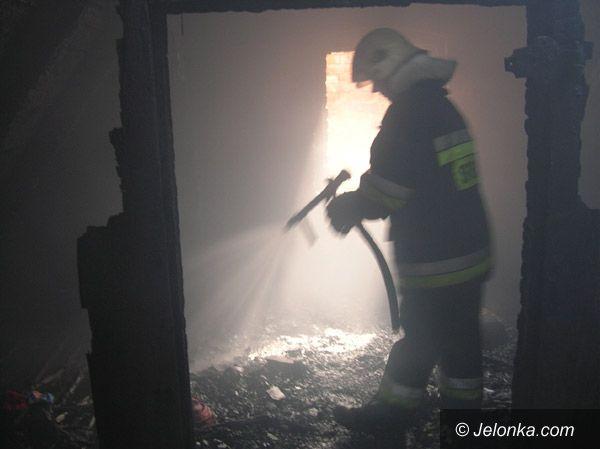 Kowary: O włos od tragedii w ogniu