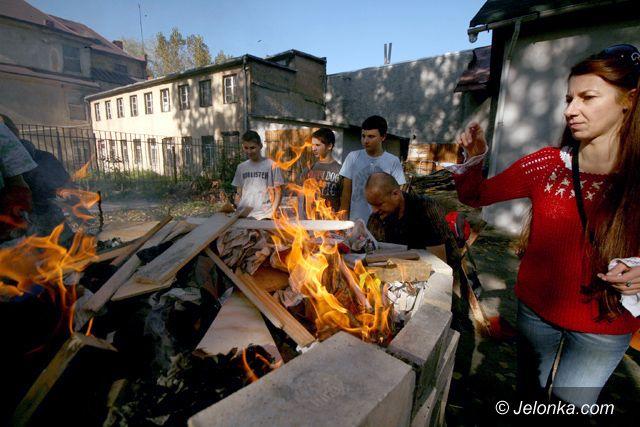 JELENIA GÓRA: Symbol miasta stanął w ogniu