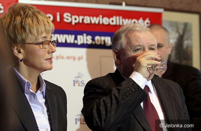 JELENIA GÓRA: Jarosław Kaczyński: – Jest źle, będzie gorzej…