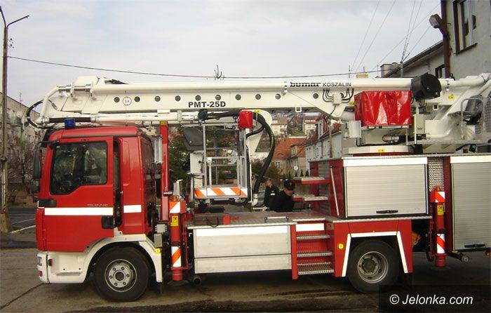 REGION: Do pożaru pojadą nowiutkim wozem bojowym