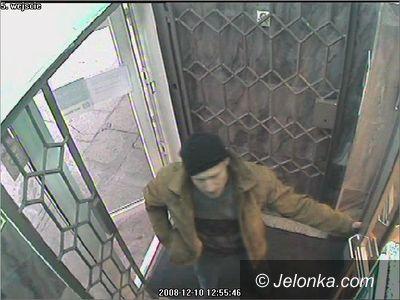 REGION: Ten człowiek próbował okraść bank