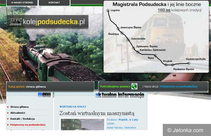 JELENIA GÓRA KRAJ: Chcą bezpośredniego pociągu do Jeleniej Góry