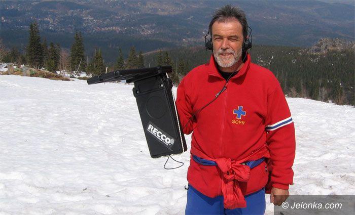 JELENIA GÓRA: Technika ratuje życie w górach