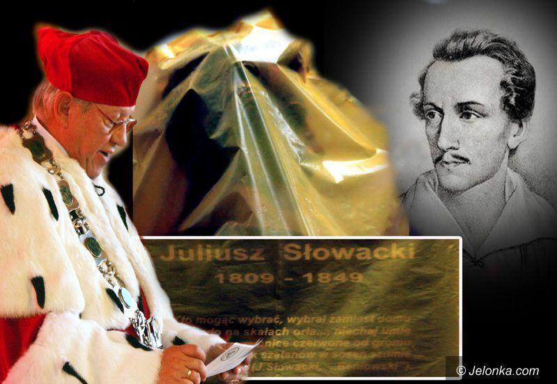 JELENIA GÓRA: Bo Słowacki wielkim poetą był