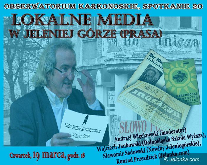 JELENIA GÓRA: Obserwatorium Karkonoskie o mediach lokalnych