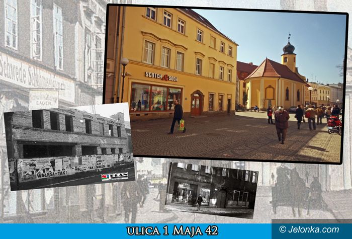 JELENIA GÓRA: Rozwiązanie Fotozagadki: to ulica 1 Maja 42