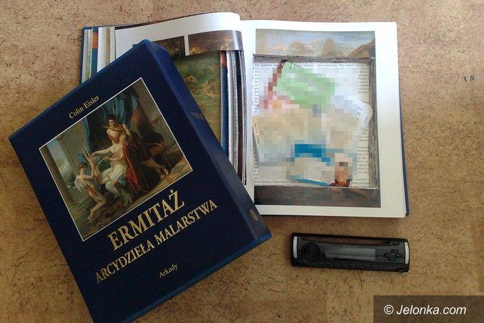 JELENIA GÓRA: Album z malarstwem skrytką złodzieja