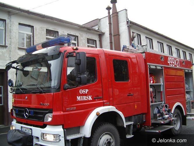 REGION: Zrzutka na strażackiego mercedesa