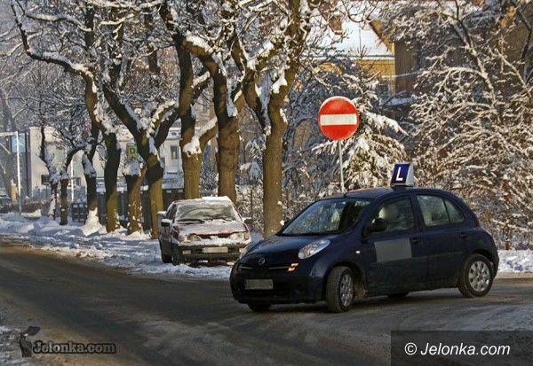 JELENIA GÓRA: Egzamin w śniegu? Łatwizna