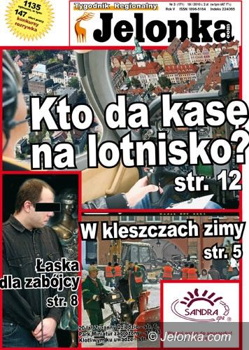 JELENIA GÓRA: Tygodnik Jelonka.com od poniedziałku w kioskach