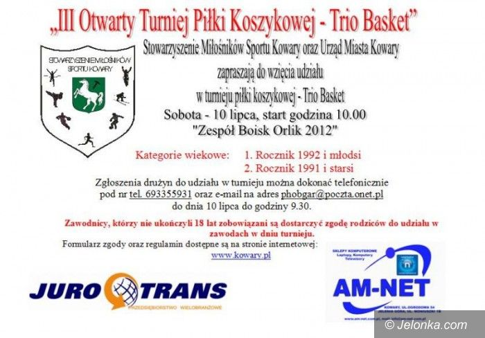 Kowary: Trio Basket w Kowarach