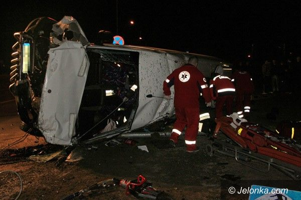 JELENIA GÓRA: Po tragedii na Zabobrzu zarzuty dla kierowców