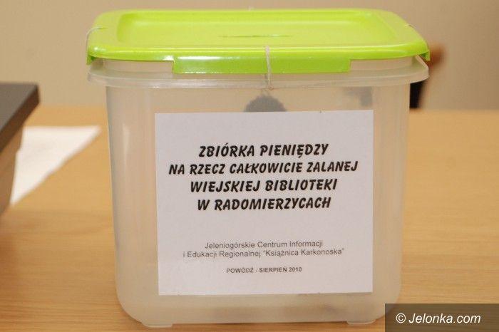 Jelenia Góra / Radomierzyce: Na ratunek bibliotece w Radomierzycach