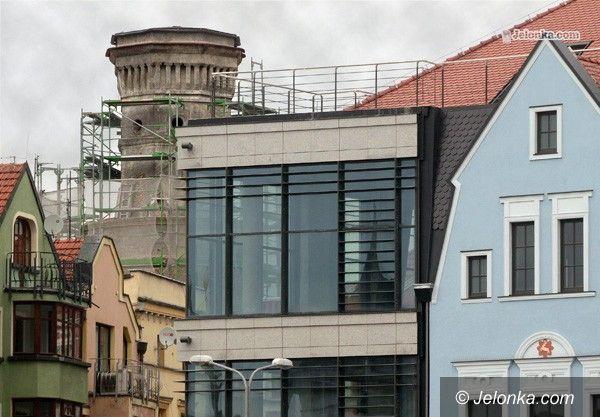JELENIA GÓRA: Wieża zamkowa gruntownie remontowana