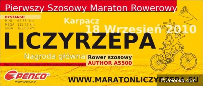 Karkonosze: Maraton Liczyrzepa