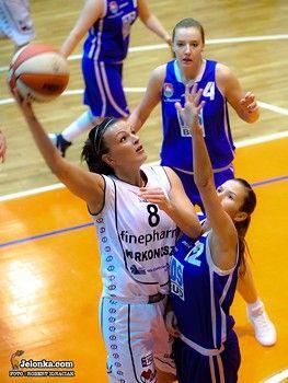 I-liga koszykarek: Cenne zwycięstwo koszykarek, Kowalczyk bohaterką