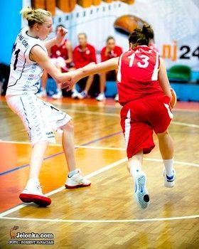 I-liga koszykarek: Porażka koszykarek, utrudniony bój o ligowy byt