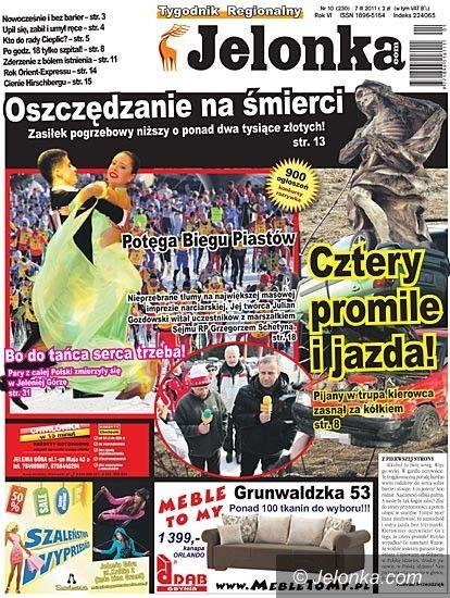 JELENIA GÓRA: Tygodnik Jelonka.com od poniedziałku