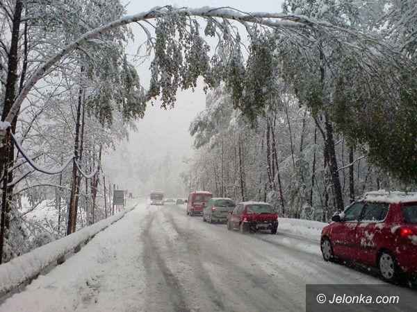 JELENIA GÓRA/ REGION: Harce zimy w maju. Rekordy interwencji