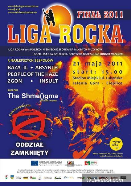 JELENIA GÓRA: Finałowy Open Air Ligi Rocka. Już 21 maja przy Lubańskiej