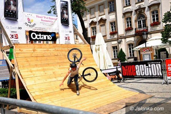 Jelenia Góra: Ekstremalne pokazy rowerowe