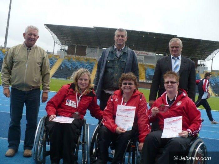 Bydgoszcz: Lucyna Kornobys wywalczyła trzy medale Mistrzostw Polski