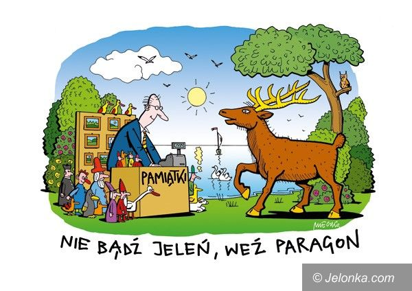 JELENIA GÓRA- KRAJ: Nie bądź jeleń, weź paragon!