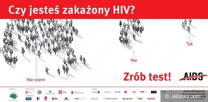 Jelenia Góra /kraj: Zrób test na HIV!