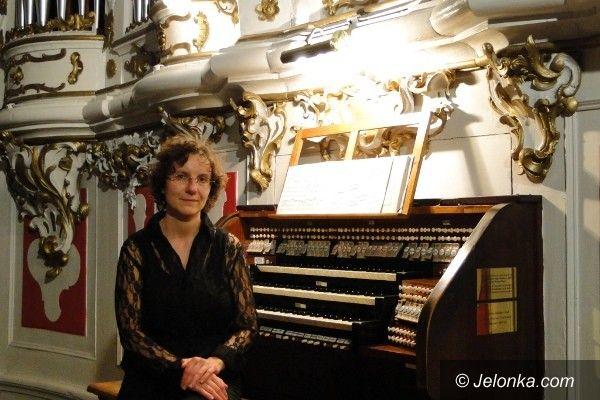 JELENIA  GÓRA: Maria Erdman zagrała Bacha. Na organach w cieplickim Kościele Zbawiciela