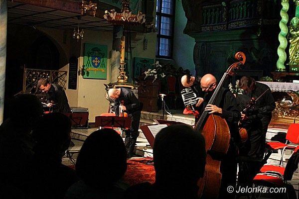 JELENIA  GÓRA: Anielskie tango w Kościele Łaski. Po koncercie kwintetu Piazzoforte