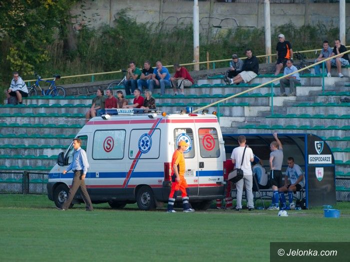 IV-liga piłkarska: Dramat Karkonoszy – pechowa porażka i kontuzja Bijana