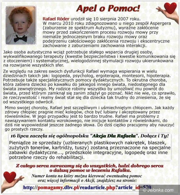 Jelenia Góra: KPR pomoże choremu chłopcu