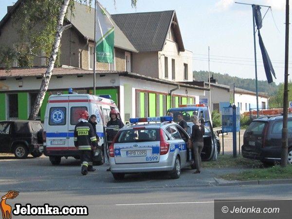 Jelenia Góra: Stłuczka trzech aut przez gapiostwo