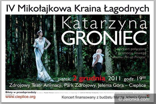 JELENIA GÓRA: Katarzyna Groniec zaśpiewa w Cieplicach