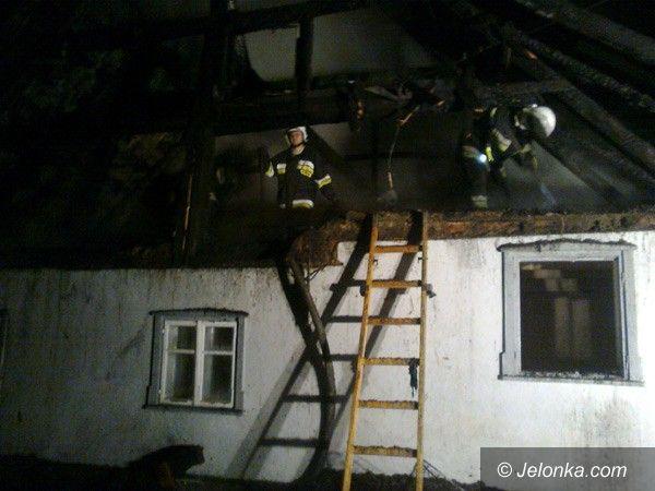 REGION JELENIOGÓRSKI: W Wojanowie spłonął budynek mieszkalny