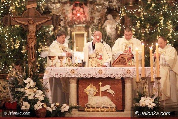 JELENIA GÓRA: By Bóg się narodził… w nas. Po pasterce w Bazylice