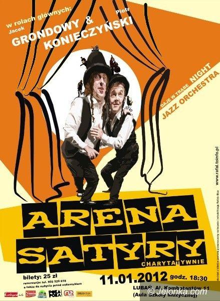 REGION: Arena satyry z pomocą Rafałowi