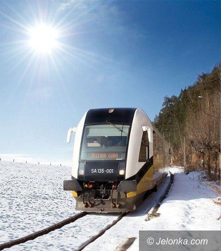 DOLNY ŚLĄSK: Fotokonkurs – jak pociągi jeżdżą zimą