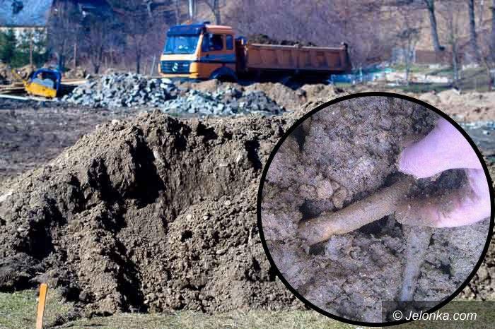 JELENIA GÓRA: W Maciejowej wybudują Biedronkę na terenie byłego cmentarza? Pod nadzorem archeologa