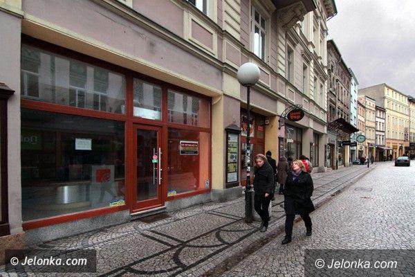 JELENIA GÓRA: Lokalowe pustki na Śródmiejskim Trakcie