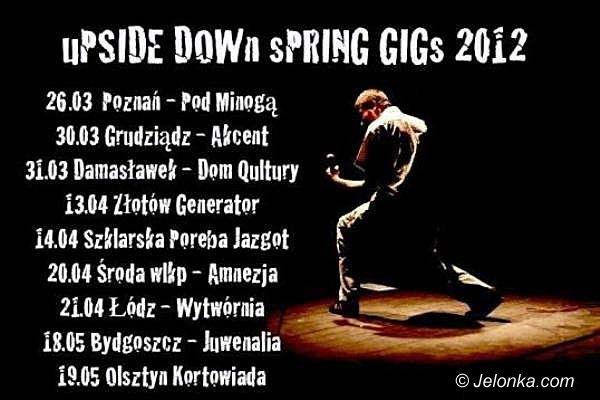 REGION JELENIOGÓRSKI: UPSIDE DOWN zagra w Jazgocie. 14 kwietnia