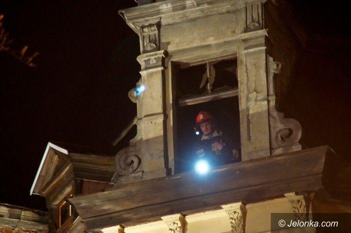 JELENIA GÓRA: Pożar przy ul. Klonowica – czy to było zaprószenie?