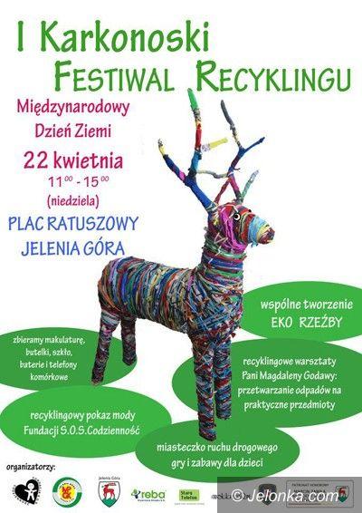 Jelenia Góra: Karkonoski Festiwal Recyklingu już jutro